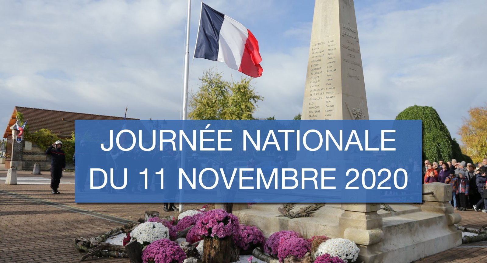 Journée nationale du 11 novembre 2020