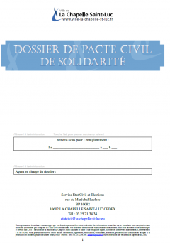 Dossier pacs interactif